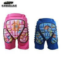 Wholesale Padded Pants Kids - Wholesale- Queshark Women Men Adults Kids Skiing Hip Butt Pad Pants Outdoor Ice Skating Trousers Gear Pad Sports Shorts Snowboard Pants