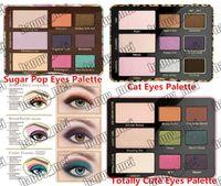 Wholesale Eye Shadow Cute - Free Shipping ePacket New Makeup Eyes Cat Eye  Totally Cute  Sugar Pop Eye Shadow Palette Collection 9 Colors Eyeshadow!