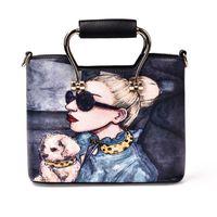 Wholesale Handbag Tote Korea - 2017 PU fashion handbag joker single shoulder bag brand desginer bags Korea edition new fashion women bag