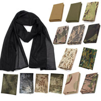Wholesale Tactical Face Veil - Outdoor Gear Airsoft Paintball Shooting Gear Face Neck Protection Headscarf Veil Neckerchief Tactical Tactical Airsoft Camouflage Scarf