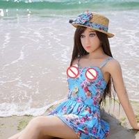 Wholesale Sex Toy Real Lady - 2017 sex toys pussy product for men 148cm japanese lady real life size sexy dolls silicone