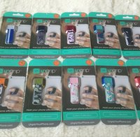 iphone telefonhalter großhandel-Universal 3M Ungrip Handyhalter UN Grip Ring Grip Fingerständer Faule Stent-Telefon-Schnalle für iPhone X XS MAX 7 8 plus Samsung S10 plus