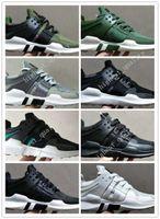 Wholesale Denim Free Shipping Woman - 2017 New Originals EQT Support ADV shoes Women & Mens Running Shoes Sneakers Black Primeknit White Core Sports Shoe Free Shipping Eur 36-45