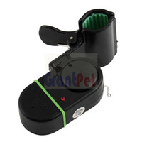 Wholesale fishing alarm sounds for sale - High quality Electronic LED Light Fish Bite Sound Alarm Bell Clip On Fishing Rod fishing pole Electronic alarm