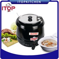 Wholesale ITOP V Electric Soup Warmer Kettle Soup Boiler Buffet Restaurant heating in water bath