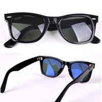 Wholesale Summer Sunglasses For Men - Carfia 50mm new arrival summer fashion sunglasses high quality polarized sunglasses plank sun glasses for me women vintage driver UV400