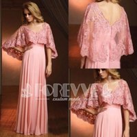 Wholesale Cheap Petite Clothing - Fashion Pink Lace Sheer Prom Dress 2017 V-Neck Appliques Formal Party Dress Evening Gown Cheap Clothes China Special Occasion Dresses