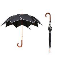 Wholesale Umbrellas For Kids - Long Handle Handmovement Umbrella Portable Windproof Rain Umbrella 8 Ribs Creative Gift Sunny Umbrellas For Women Kids