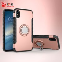 Wholesale Tpu Smartphone Case - Premium Protective Kickstand Design Smartphone Covers Shockproof Absorption Cellphone Case For Iphone 8 7S 7Plus 6 6S 6Plus Case