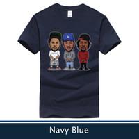 Wholesale Cartoon J - Cartoon Drake & J Cole & Kendrick Lamar T Shirt
