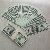 Wholesale Paper Money Collection Bank Training Banknotes USA Practicing Props Teaching Learning Money Children Gift