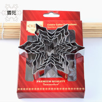 Wholesale cutters for baking resale online - Snowflake Piece Suit Stainless Steel Biscuit Mould DIY Cookie Cutter Collections Baking Mold For Rice Vegetable Roll Fruit Modeling kn R