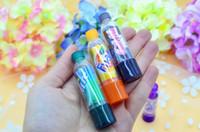 Wholesale Smackers Lip Balm - New Fashion Cola Lipstick Rainbow Change Color cute Lip Smacker Baby Lips Brand Makeup Moisturizer Faint scent Lip Balm4pcs lot