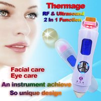 Wholesale thermage for face lifting - Portable Slimming cavitation rf thermage Liposonix hifu Beauty Machine 5 in 1 ultrasonic cavitation machine For face Weight Loss anti aging.