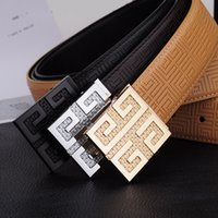 Wholesale Geometric White Womens Top - TOP Men belt womens high Quality Genuine Leather black and white color Designer Cowhide Q Belt For Mens Luxury Belt free shipping