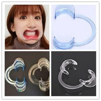 Wholesale C Type Dental Mouth Opener Teeth Whitening Cheek Retractors Game Lip Retractors Dentistry for Speak Out Game Party Game DHL