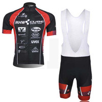 Wholesale Cycling Jersey Set Cube - CUBE Cycling Jersey Short Sleeve Set Mountain Bike Bicycle Clothing Sportswear maillot ropa ciclismo hombre F1320