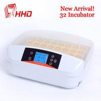 Wholesale Egg Incubators Sale - Newest Best Farm Hatchery Machine 32 Egg Hatchers Cheap Price Chicken Automatic Egg Incubator China for Sale Birds Quail Brooder