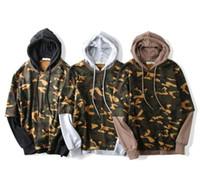 Wholesale Standard Com - 2017 Hoodies Men Hoodie Sweatshirt Casual Camouflage Hoodies Camo Tracksuit Men moletom masculine moletom com capuz