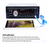 Wholesale interface audio mp3 for sale - Group buy 5983 Car Radio Auto Audio Stereo MP3 Player Support FM SD AUX USB Interface for Vehicle In Dash Din Input Receiver Device
