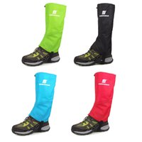2017 New Unisex Colorful Outdoor Waterproof Sleeve Gaiters à neige Randonnée Escalade Windproof Snow Short Legging Gaiters Sports (1 paire)