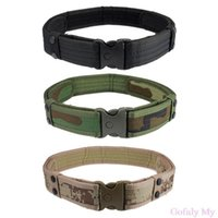Wholesale The belt Woodland Camo Waistband Tactical Hunting Outdoor Sports Field Belt