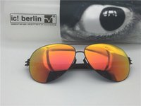 Wholesale christian sunglasses for sale - Group buy sunglasses germany designer sunglasses IC model christian s Ral Memory women sunglasses for men stainless steel sun glasses