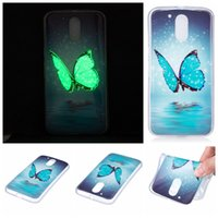 Wholesale Owl Iphone 5c - For Iphone 7 Plus 6 6S 5 SE 5C,For Huawei P8 Lite,P9 Lite,For Moto G4 Skull Feather Luminous Flower Owl Skin Gel Glow In Dark Soft TPU Case