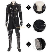 traje de fantasía para hombre al por mayor-Alta calidad FF Movie Kingsglaive Final Fantasy XV Cosplay Película FF 15 Disfraz Hombre