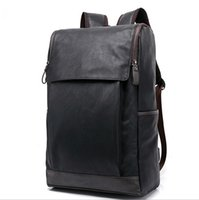 Wholesale travel bags backpack price - Travel Bags PU Leather Backpacks New Arrival Double Shoulder Bags Factory Price School Bags for College Students
