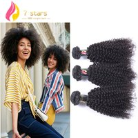 Wholesale 7A Brazilian Human Hair Extensions Kinky Curly Hair Weaves Unprocessed Hair Fast