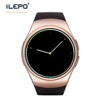 Wholesale Multiple Sim - GSM phone smartwatch IPS LCD display HD multiple color 260K round screen Micro SIM card telephone call GSM wrist watch