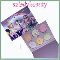 Wholesale Beauty Teeth - New makeup Tooth & Nail Cosmetics' Unicorns Vs. Mermaids 6 colors makeup Palette glow kit Bronzers eyeshadow VS beauty 660246-1