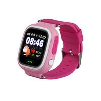 экранные устройства оптовых-Я новые красочные сенсорный экран Q90 смарт-часы SOS вызова расположение Finder устройства трекер дети ребенок подарок Q50 Q60 анти потерял