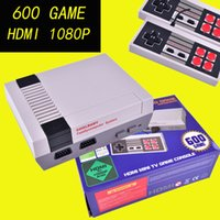 Wholesale Pal Ntsc Hdmi - Mini Game Console Retro Mini TV Handheld Game Console For Nes Games Built-in 600 Different Games With HDMI Output PAL&NTSC OTH667