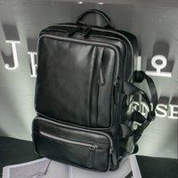Wholesale Computers Seniors - Senior Men's Leather briefcase Laptop Bag Bolsa Masculina Harajuku Bag Cheap Handbag Mochila Suitcase Briefcase Cartera Hombr