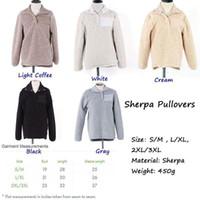 Wholesale Single Breasted Winter Jacket - sherpa pullover Women off white fleece oversize jacket personalized winter outwear monogrammed