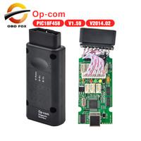 Wholesale op com cable - Professional 2017 Top selling op-com op com for opel opcom V1.70 Auto diagnostic tool 20pcs lot DHL Free Shipping