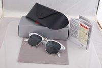 Wholesale Half Frame Square Glasses - Hot Sale Designer Brand Sunglasses Master Men Sun Glasses Women Outdoor Semi Rimless Retro Sunglass Gafas de sol Sunglas 51mm