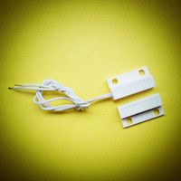 Wholesale Magnetic Reed Switch Alarms - Wholesale- 1 set Window or Door Contact Magnetic Reed Switch Alarm Free Shipping