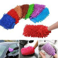 Wholesale Dust Mitts - Durable Microfiber Washing Car Window Cleaning Brush Super Mitt Car Windshield Cleaner Dust Brushes Gloves Home Cleaning Tools