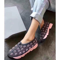 Wholesale Atmosphere Shoes - Girl leisure garden shoes breathable mesh handmade embroidery shoes flower trend customized version of urban atmosphere