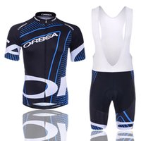 Wholesale cycling clothing sales - 2017 Hot Sale ORBEA Cycling Jersey Short Jersey Ropa De Ciclismo Maillot Cycling Clothes Set Bike Wear Gel Pad Breathable Sports Sets