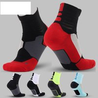 Wholesale Elite professional basketball socks with thick towel bottom socks men socks long campaign