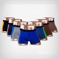 Wholesale cool underwear men - 6pcs lot Cool Summer Lycra Cotton Men's Boxer Shorts Super Breathable Mesh Men Underwear Fashion Sexy Underpants
