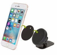Wholesale universal phone car holder dashboard for sale – best Universal Stick On Dashboard Magnetic Car Mount Holder for Cell Phones Mini Tablets with Fast Swift Snap Technology
