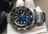 Wholesale Dive Quality - Top Quality Noob Factory V7 Mens Automatic Watch Men Black Blue Eta 3135 Date Wristwatches Sapphire Sport Dive Water Resistant Sea Watches