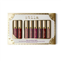 Wholesale Famous Lips - Famous! Stila Holiday Limited Edition Stay All Day lip gloss 1 sets=8pcs*1.5ml lip gloss matte sets beautify your lip free shipping