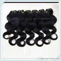 Wholesale Cheapest Good Human Weave - Vietnamese body wave human hair cheapest bundle natural color#1B Vietnamese human hair weave bundles good deal,soft 3,4,5pcs lot
