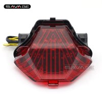 Wholesale Yamaha 25 - For YAMAHA YZF R25 R3 YZF-R25 YZF-R3 MT-25 MT-03 Motorcycle Integrated LED Tail Light Turn signal Blinker Lamp Red